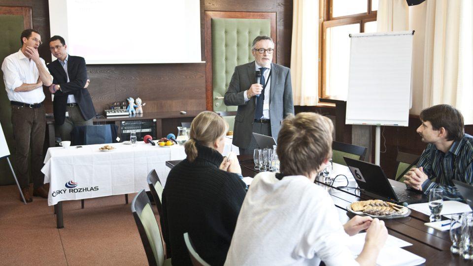 PRESSpektivy-Budoucnost žurnalistiky, Peter Duhan