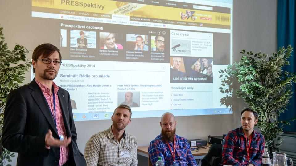 Studenti si vyzkoušeli práci novináře v Českém rozhlase